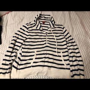 Stripped hoodie